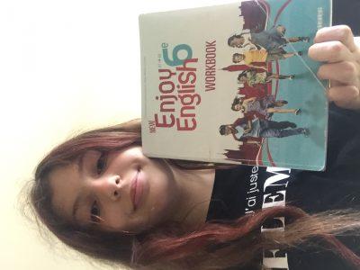 Six fours les plages, college Font de Fillol. Quoi de mieux que le livre d'anglais pour apprendre l'anglais !
