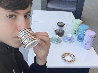 Saint Nom la bretèche collège Jean Monnet.  Do you want a cup of tea?