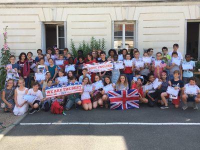 Bravo à tous les participants du collège Ste Jeanne d'Arc à TOURS!!!