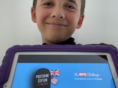 COLLEGE FONT- BELLE , SEGONZAC Big Challenge rend l'Anglais encore plus amusant. Merci