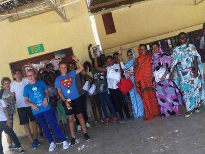 Félicitations à tous les élèves du lycée français de Nouakchott en Mauritanie!