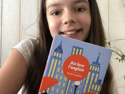 """MARQUISE COLLEGE SAINT MARTIN Le livre amusant """"Aïe love l'anglais"""" de Rachel Hausfater."""