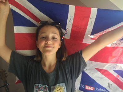 Je m'appelle Mathine, je suis de Dol-de-Bretagne. Grâce au Big Challenge, j'adore pratiquer l'anglais !!!!