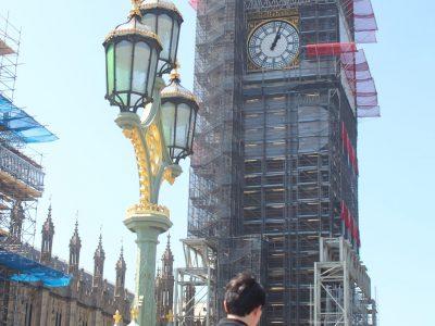 Big Ben en réparation Manon 6A Collège Marchiennes Marguerite Yourcenar