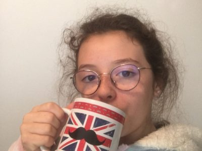 """Collège Jean compagnon   Reyrieux  Mon chocolat chaud est meilleur avec ma tasse """"London"""" !"""