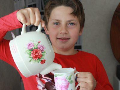 Rixheim  Capitaine Dreyfus  , a cup of tea.
