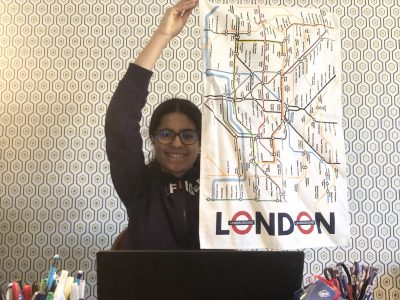 Savigny sur Orge, Collège du Sacré Coeur  I LOVE LONDON !!!  Séfora