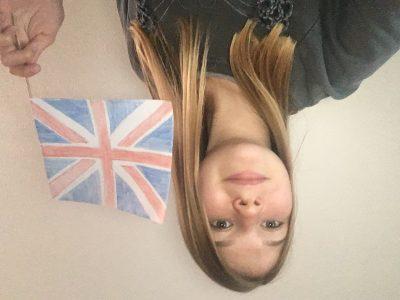 Matzenheim Institut Saint-Joseph  J'ai dessinée le drapeau du Royaume-Uni car je trouve que ça représente bien le Royaume-Uni pour moi !