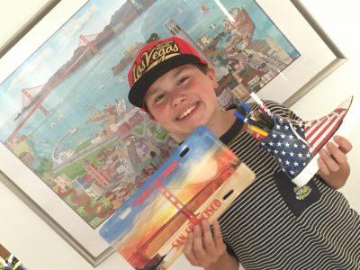 Voisins le Bretoneux  collège Jean-François Champollion   C'est moi, Tristan, lauréat du concours Big Challenge, qui vous parle en direct du Golden Gate Bridge ;o)