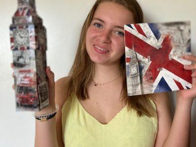 Caluire et cuire   Collège: Ombrosa  L'élément que j'ai choisis pour la photo est Big Ben en puzzle que j'ai acheté à Londres.