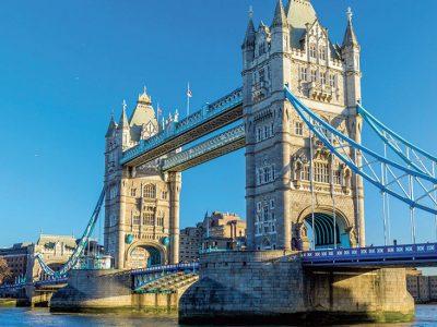 """Teloche  francisci  saint jean batiste de la salle la photo montre le pont anglais : """"the tower bridge """""""