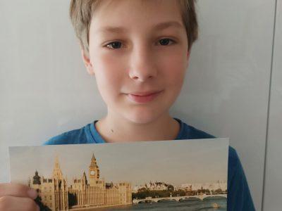 MARSEILLE  CHEVREUL LA BLANCARDE Panorama de LONDRES Big Ben et le Palais de Westminster