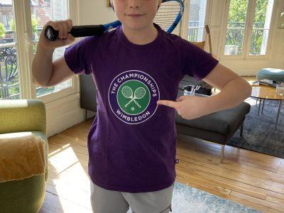 Saint-Joseph du Parchamp, Boulogne-Billancourt Je suis tennisman et je rêve d'aller à Wimbledon, le plus grand tournoi du monde !