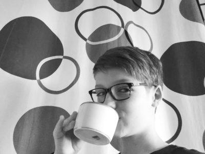 "Antibes, Mont Saint Jean.  ""It's tea time!"""