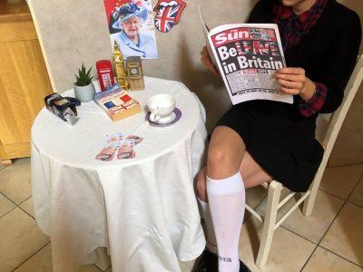 Collège Robert Aubry de Ligny-en-Barrois : It's tea time !