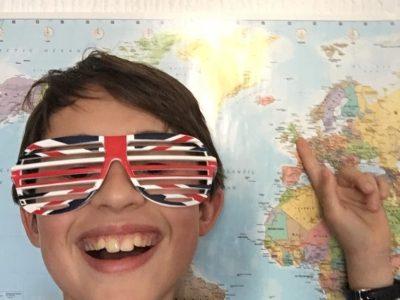 MARSEILLE , COLLEGE PIERRE PUGET I LOVE ENGLAND
