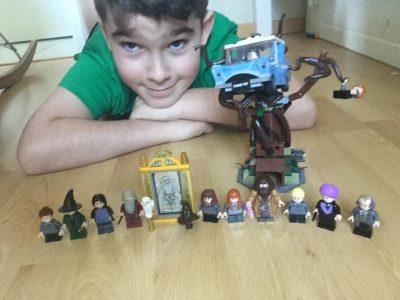 GAGNY / COLLEGE MADAME DE SEVIGNE   VOILA MES LEGO HARRY POTTER , JE ME SUIS RAPELLé QUE HARRY POTTER éTAIT ANGLAIS