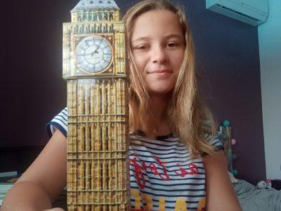 Baie Mahault - Collège Saint Joseph de Cluny - Guadeloupe  J'ai construit un puzzle en 3D de Big Ben car Londres me passionne