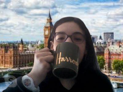 Rennes collège Assomption:  J'aime boire mon thé dans ma tasse Harrods.