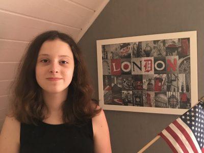 Lauterbourg - Collège Georges Holderith Londres et le drapeau des USA m'accompagnent tous les jours :)