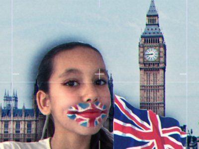 Bonjour ! Je suis de MONTPELLIER plus précisément du collège Jeu de Mail. J'ai participé au concours The BIG Challenge et j'ai pris un selfie de moi avec un maquillage représentant le drapeau de l'Angleterre et un montage photo avec le Big Ben derrière moi !