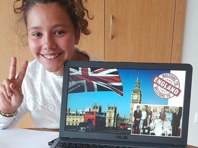 Dourdan, Institut St Paul Maelly Gomes , 6D I LOVE ENGLAND!!