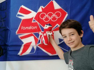 Collège du Pont de La Maye 33140 Villenave d'Ornon Souvenirs des jeux paralynpiques de Londres en 2012 où mon beau-père est allé en tant qu'athlète français.