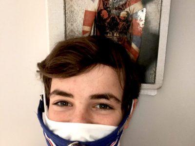 Nantes/Externat des enfants nantais Here masked-Séraphin for confined Big Challenge