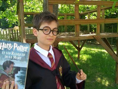 Collège Marcel Pagnol 02590 VERMAND. Je suis fan d'Harry Potter et en apprenant l'anglais je pourrai les lire en version originale.