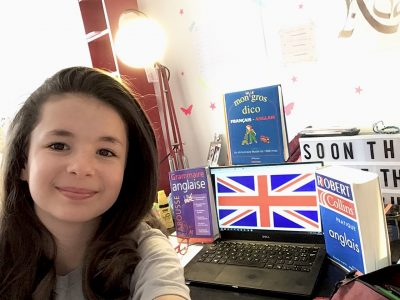 J'habite à Paris et je suis en 6ème au collège Condorcet,  I hope to win the trip to New York with the Big Challenge !!!