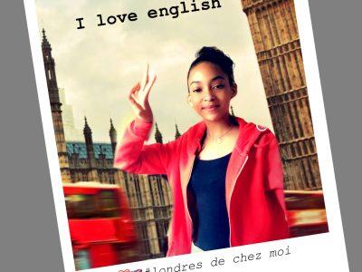 """Six Fours Les Plages Collège Font de Fillol """"Je n'ai pas eu l'occasion d'aller à Londres, avec un petit montage, sans train sans avion, on s'y croirait ! """""""