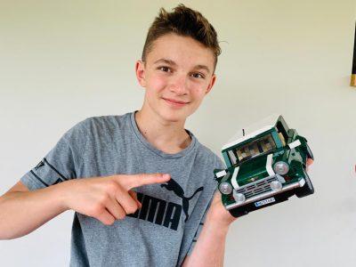 Orlando PLAB (collège Jean-Marie Pelt de Hettange-Grande 57570) Ma voiture en légo qui est une Mini Cooper est une voiture roulée par beaucoup d'anglais dans le Royaume-Unis