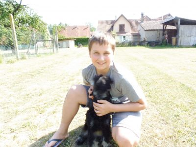 Niederbronn-les-Bains college Charles Munch  je vous presente mon chien popsi