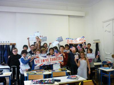 """Félicitations à tous les élèves du Collège Italien """"Leonardo da Vinci""""!"""
