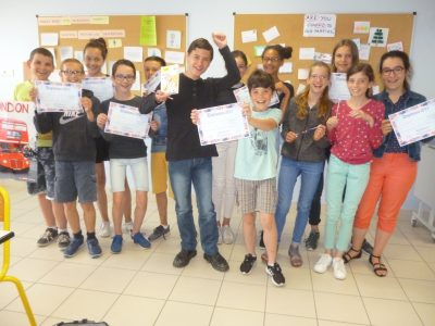 Chemillé en Anjou  Collège Saint Joseph  Bravo les 5C !