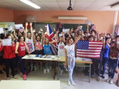 Remise des prix du 17 juin au collège Le Fenouillet à La Crau (83). Félicitations à tous les élèves!