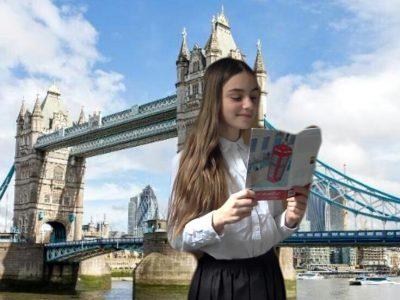 Je m'appelle Ninon Je suis en 4eme au collège Via Domitia à Manduel Voilà ce qui m'évoque l'Angleterre chez moi