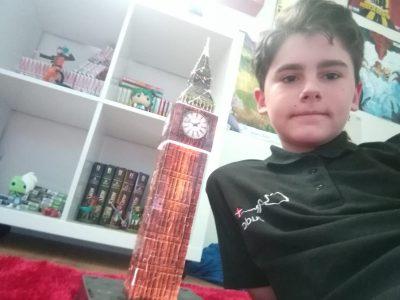 Ville: Evian ,Collège les Rives du Léman, Big Ben est mon ami !