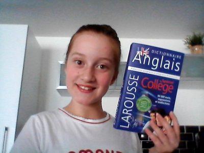 Collège Val de la Sensée à Arleux ! J'adore l' anglais, c'est ma langue préférée ! C' est une super simple ! #BIGCHALLENGE! Ilana Sarazin 6G !