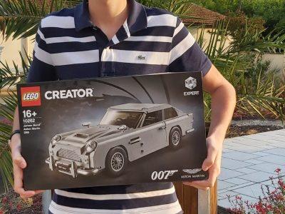 Collège Jean Monnet - 33820 St Ciers Sur Gironde Quelle belle voiture anglaise, celle de James Bond, l'emblématique espion britannique !