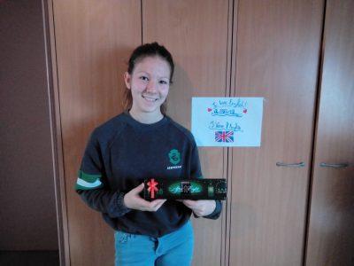 Mayane Riot au Collège Pierre et Marie Curie à Gravelines  J'aime l'anglais et le Big Challenge 2020 c'est génial !!! Je fais le concours depuis ma 6ème cette année c'est ma 3 ème participation. Merci pour le concours du Big Challenge !!!
