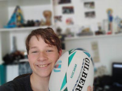 La Madeleine Collège St Jean I love the rugby.