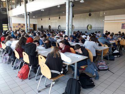 Collège Saint Exupéry SAINT NICOLAS DE PORT (54) La motivation et la réflexion sont grandes le jour J!