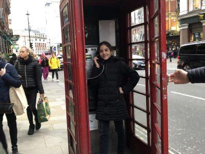 ST Jeannet collège des Baous It's me in London.