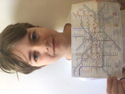Saint - Brice - Sous - Forêt /  Collège l'Ardillière de Nézant  J'aimerais prendre le métro pour aller visiter le musée de Harry Potter !!!  TOM VANDERMOERE 603
