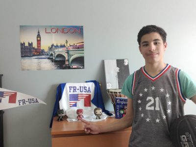 Collège Louis Pasteur de Faulquemont. Hello, my name is Chadi and I love english and basketball. I hope you'll enjoy my picture !