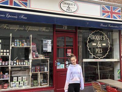 Saint-Germain en Laye. College Marcel Roby  Super bon le restaurant!! Des spécialités typiques d'Angleterre.