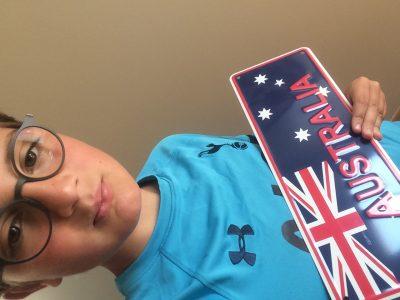 Clisson, College Immaculé conception la salle. Vive l'Australie et Tottenham !!!!