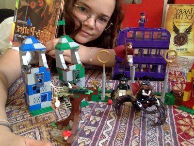 Paris école Massillon   j'adore Harry potter et le les legos alors  je me raccroche à ça pour l'anglais !