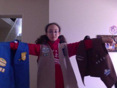 Gif-Sur-Yvette,College les Goussons J'ai vécu 3 ans dans un pais anglos saxon ,alors j'ai fait des scout d'Amérique ( girl scout of America) pendant  4 ans maintenant